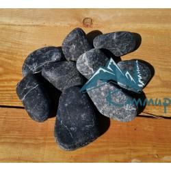 Пироксенит шлифованный мелкий 5-7 см