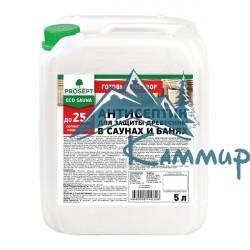 Антисептик для бани и сауны PROSEPT ECO SAUNA, готовый состав 5 литров