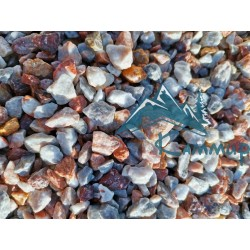 Крошка мраморная цветная 10-20 мм в мешках 25 кг