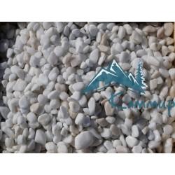 Галька мраморная белая 10-20 мм