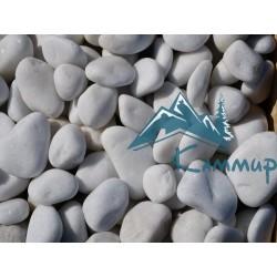 Галька мраморная белая 40-70 мм