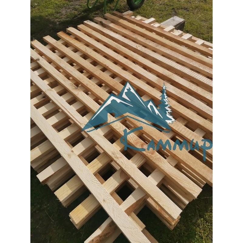Штакетник деревянный 25х50х1500 мм