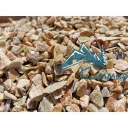 Крошка Златолит 5-15 мм в мешках по 25 кг