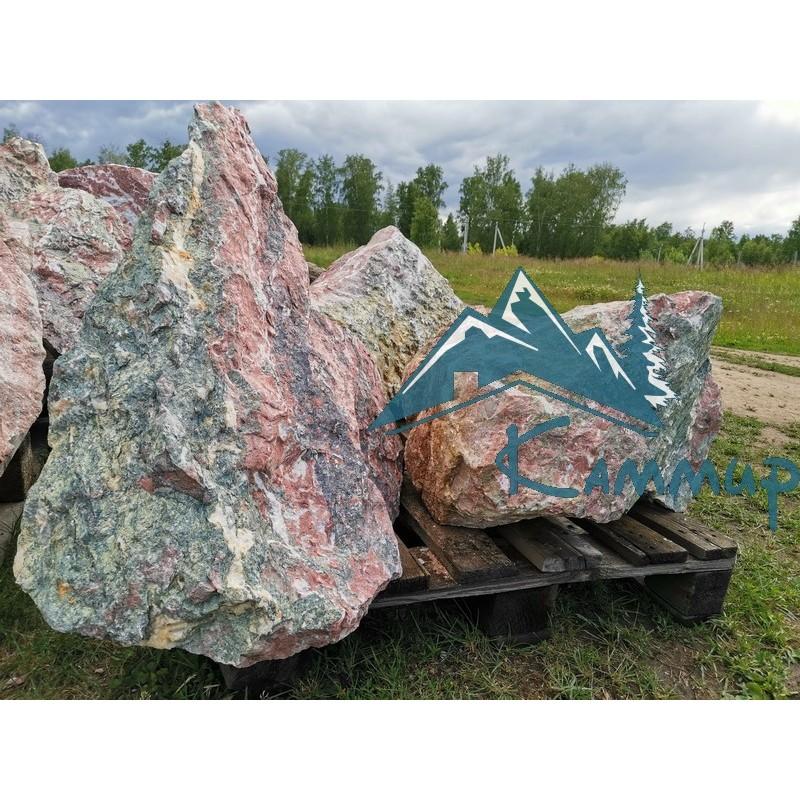 Ландшафтный камень цветной