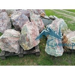 Ландшафтный камень цветной бут