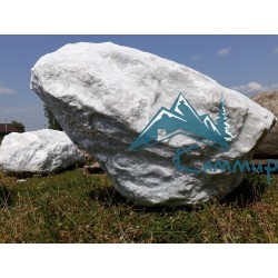 ландшафтный камень белый