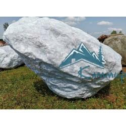 камень белый для ландшафта