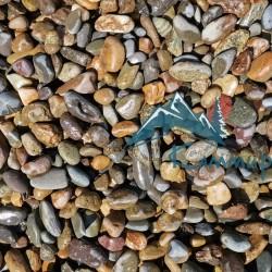 Галька речная 5-20 мм, в мешках по 25 кг