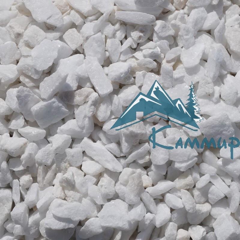 Мраморная крошка белая 10-20 мм