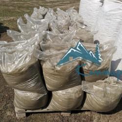 Песок сеяный в мешках по 25 кг
