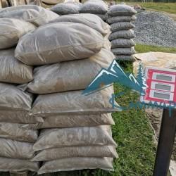 Песок фасованный в мешках по 25 кг