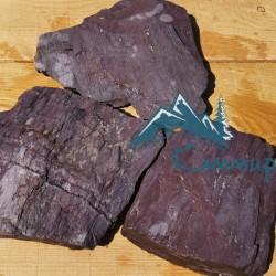Сланец фиолетовый колотый