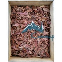 Кора лиственницы мелкая 1-3 см в мешках