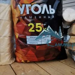 фасованный Уголь орех 25-50 мм в мешках по 25 кг