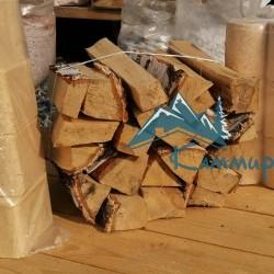 березовые дрова и топливные брикеты фото