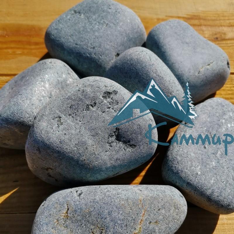 Пироксенит галтованный банный камень