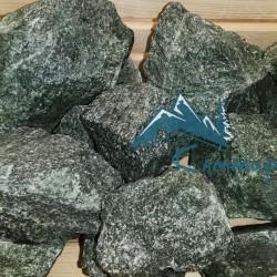 Камень жадеит колотый зеленый