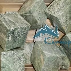 кубики из камня жадеит для бани